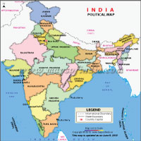 India states and capital